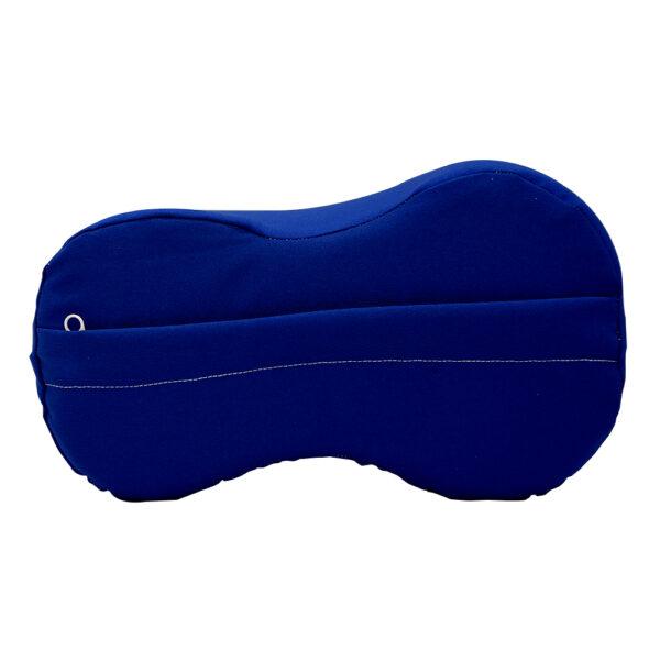 Almohada para entrepierna de color azul