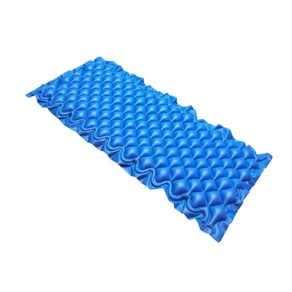 Colchón de presión alterna marca Eko Mobility color azul